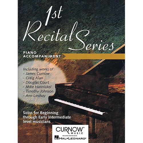 Curnow Music First Recital Series (Piano Accompaniment for Euphonium B.C/T.C.) Curnow Play-Along Book Series-thumbnail