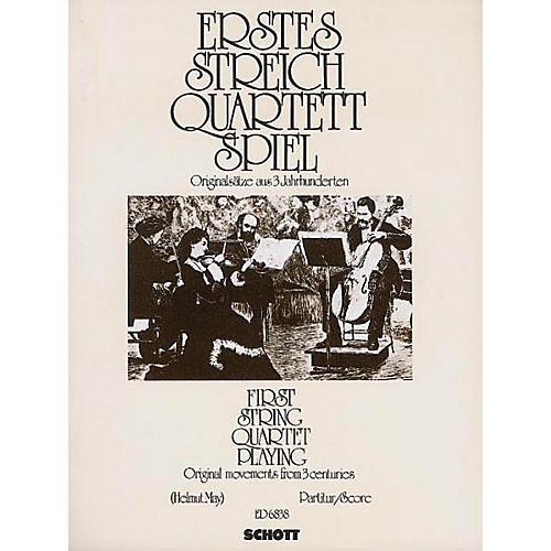 Schott First String Quartet Playing Score Schott Series-thumbnail