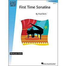 Hal Leonard First Time Sonatina - Level 1 Hal Leonard Student Piano Library by Fred Kern