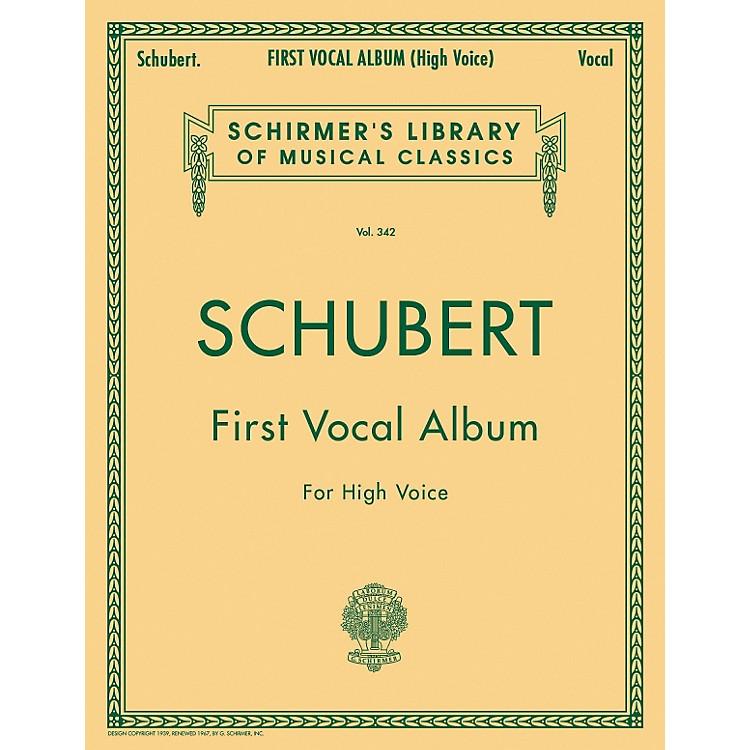 G. SchirmerFirst Vocal Album for High Voice / Piano (German / English)
