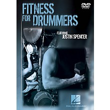 Hal Leonard Fitness for Drummers Instructional/Drum/DVD Series DVD Written by Justin Spencer