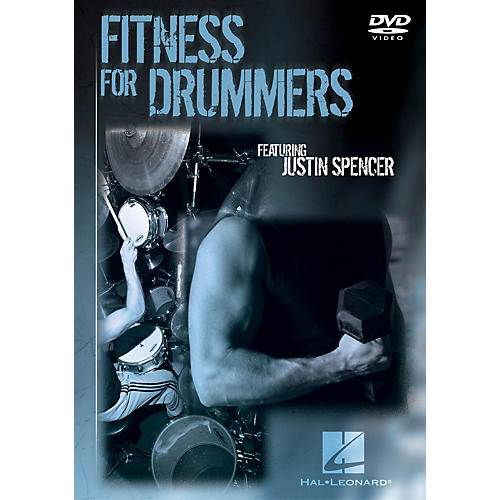 Hal Leonard Fitness for Drummers Instructional/Drum/DVD Series DVD Written by Justin Spencer-thumbnail