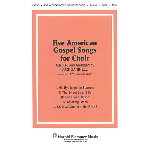 Shawnee Press Five American Gospel Songs SATB arranged by Luigi Zaninelli