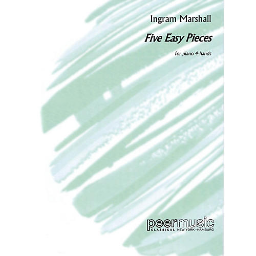Peer Music Five Easy Piano Pieces (for Piano 4-Hands) Peermusic Classical Series-thumbnail