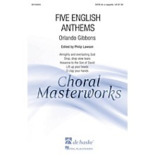 De Haske Music Five English Anthems (Collection) SATB DV A Cappella composed by Orlando Gibbons