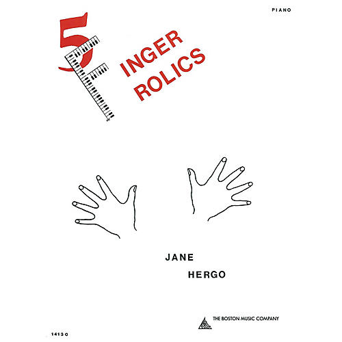 Music Sales Five Finger Frolics Music Sales America Series Softcover Composed by Jane Hergo-thumbnail