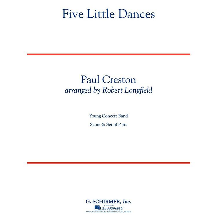 Hal LeonardFive Little Dances - Concert Band Level 3