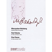 Peer Music Five Pieces for Flute and Piano Peermusic Classical Series Softcover