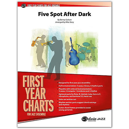 BELWIN Five Spot After Dark Conductor Score 1 (Easy)-thumbnail