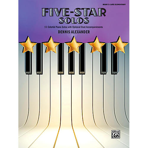 Alfred Five-Star Solos, Book 3 - Late Elementary-thumbnail