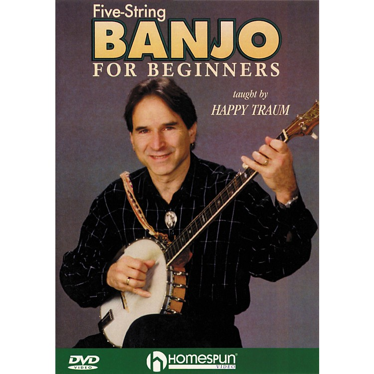 Homespun Five String Banjo for Beginners (DVD)
