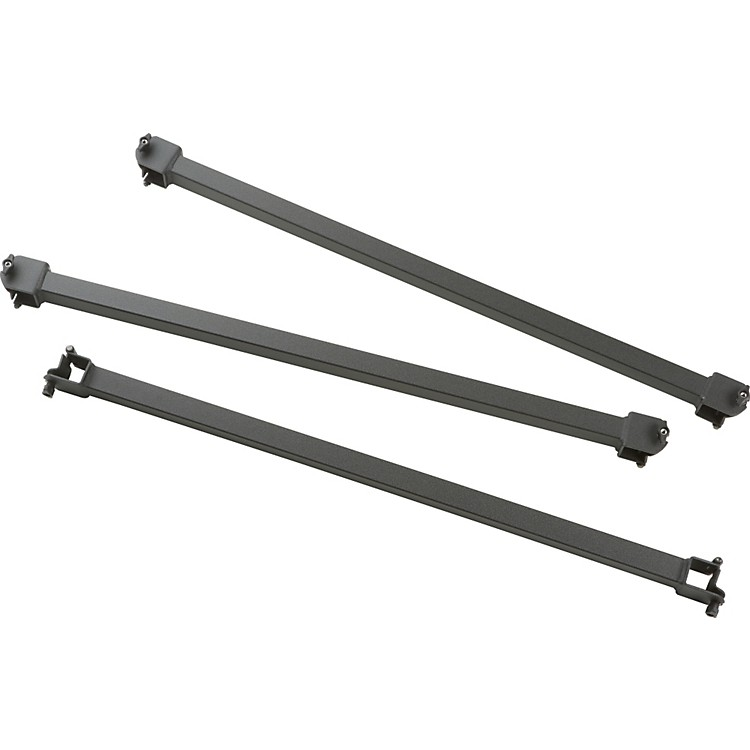 Adams Fixed Crossbars Set of 3 150cm