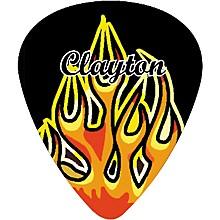 Clayton Flame Guitar Picks Standard 1.26 mm 1 Dozen