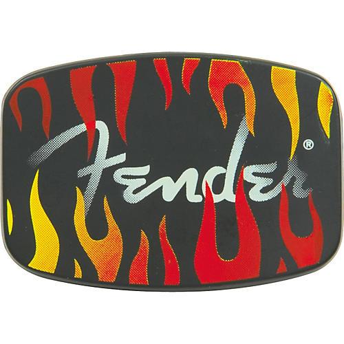 Fender Flame Logo Belt Buckle
