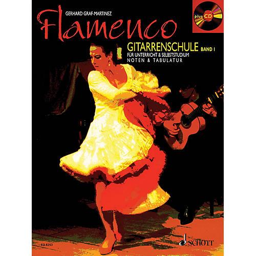 Schott Flamenco Gitarrenschule Band 1 (Book/CD Pack, German Language) Schott Series-thumbnail