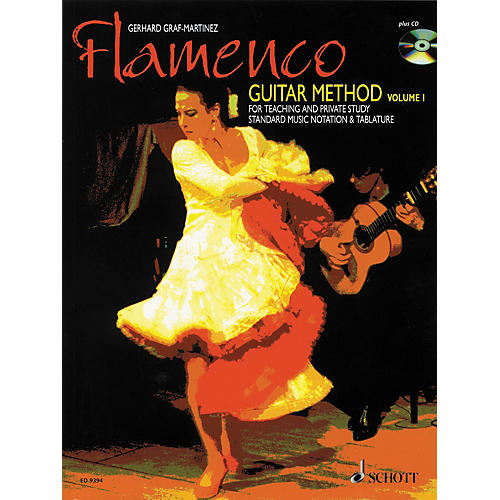 Schott Flamenco Guitar Method Volume 1 Book with CD