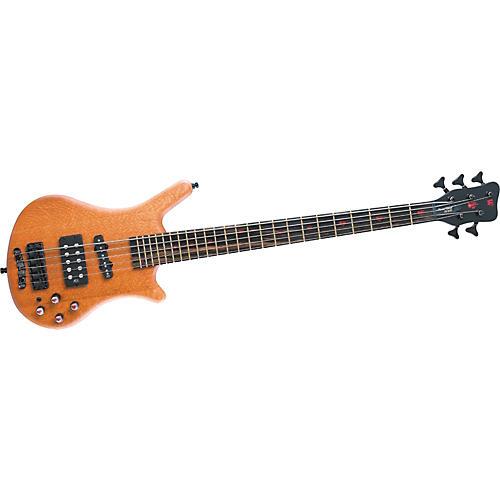 Warwick Flamin' Blonde Limited Edition 5-String Bass Guitar-thumbnail
