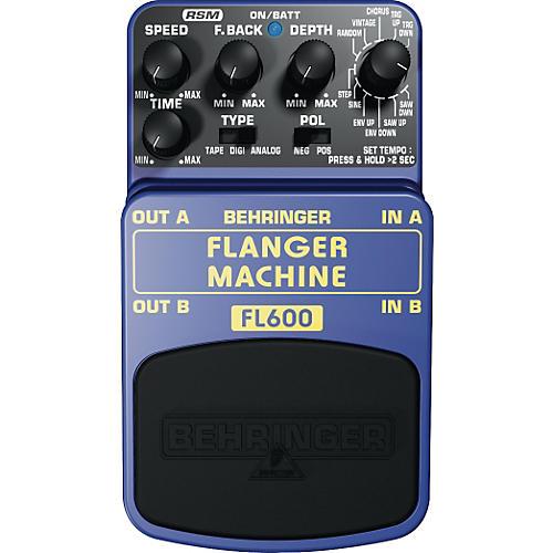 Behringer Flanger Machine FL600 Guitar Effects Pedal