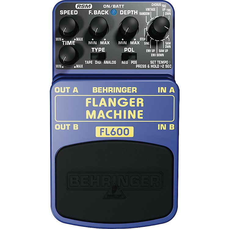 Behringer Flanger Machine FL600 Guitar Effects Pedal