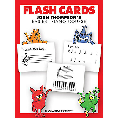 Willis Music Flash Cards - John Thompson's Easiest Piano Course