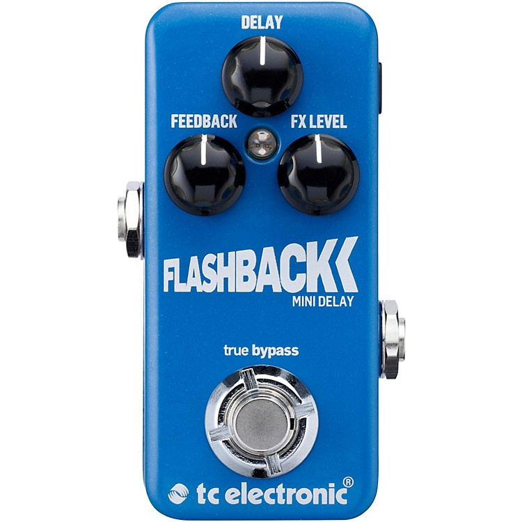 tc electronic flashback mini delay guitar effects pedal musician 39 s friend. Black Bedroom Furniture Sets. Home Design Ideas
