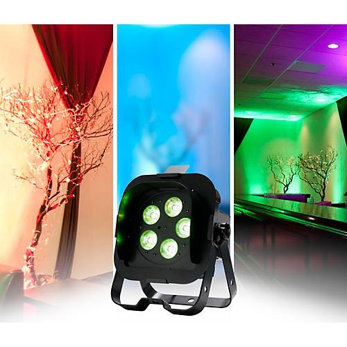 American DJ Flat Par QA5XS RGBA LED Wash Light-thumbnail