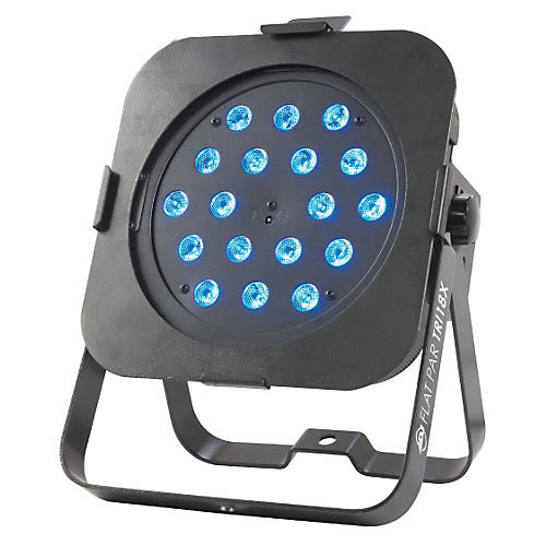 American DJ Flat Par TRI18X Low Profile LED Par Can Light