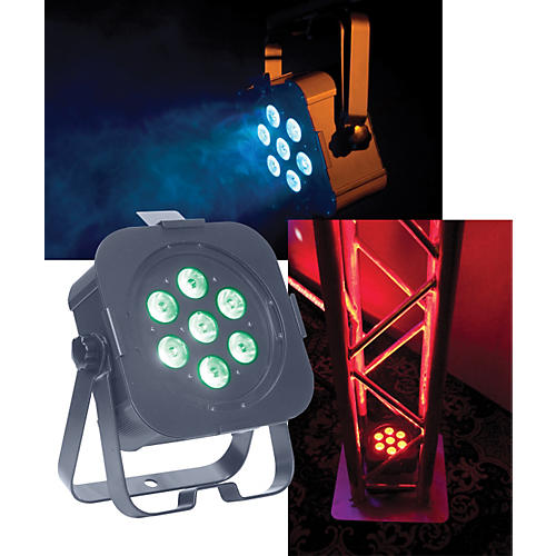 American DJ Flat Par Tri7 LED PAR Can