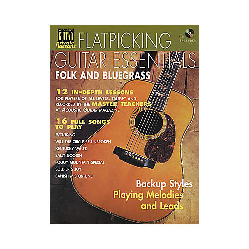 Hal Leonard Flatpicking Guitar Essentials (Book and CD Package)