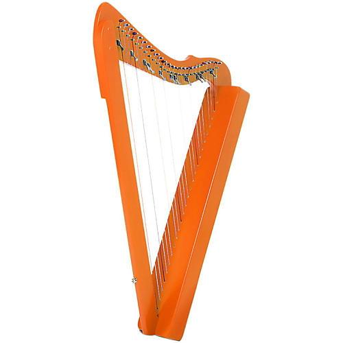 Rees Harps Flatsicle Harp Orange