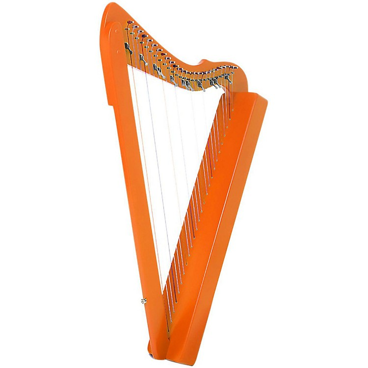 Rees Harps Flatsicle Harp Orange