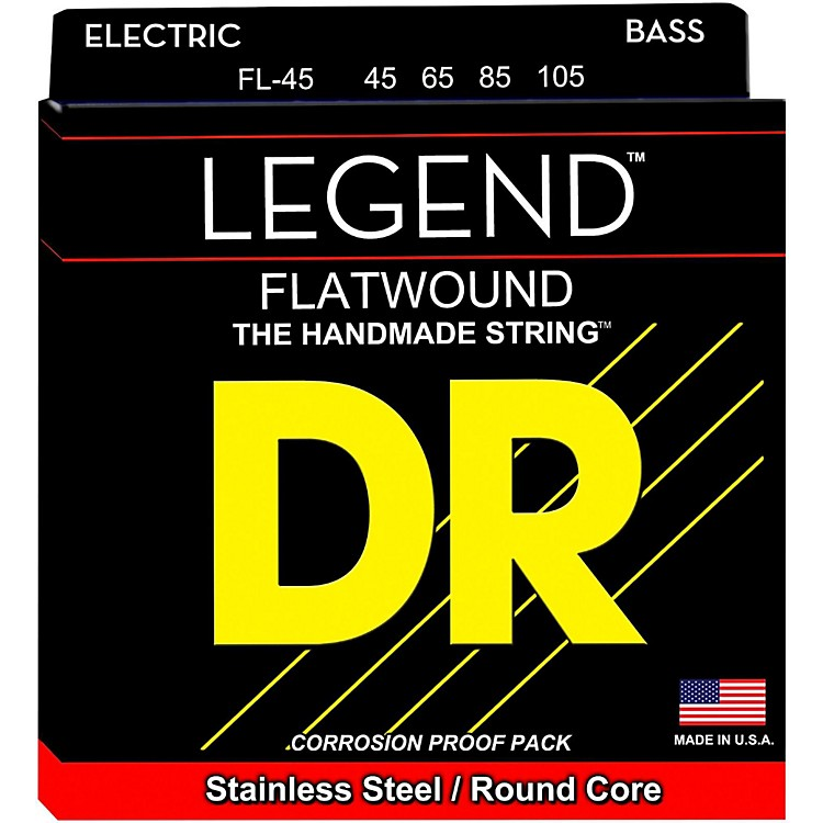 DR StringsFlatwound Legend Bass Strings Medium
