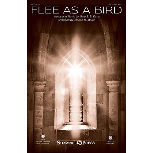 Shawnee Press Flee As a Bird Studiotrax CD Arranged by Joseph M. Martin