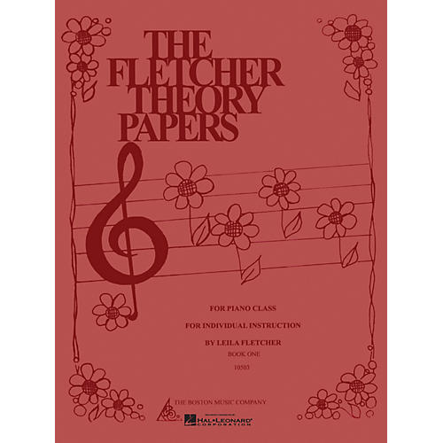 Boston Music Fletcher Theory Papers (Book 1) Music Sales America Series Softcover Written by Leila Fletcher-thumbnail