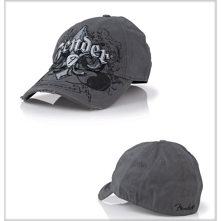 Fender Fleur de Funk Stretch Cap Charcoal Large/Extra Large