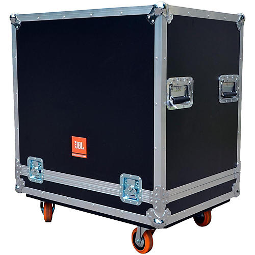 JBL Bag Flight Case for PRX718XLF with 3.5-Inch Casters-thumbnail