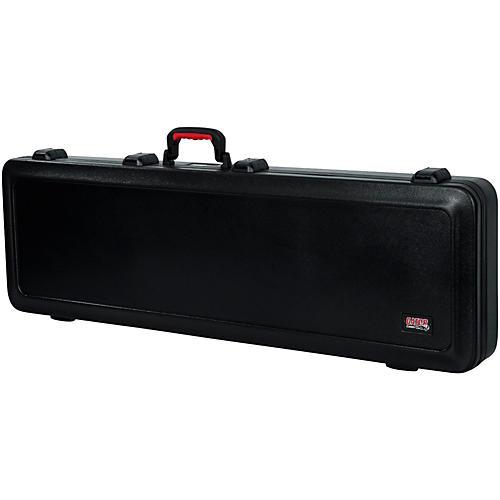 Gator Flight Pro TSA Series ATA Molded Bass Guitar Case Black Red