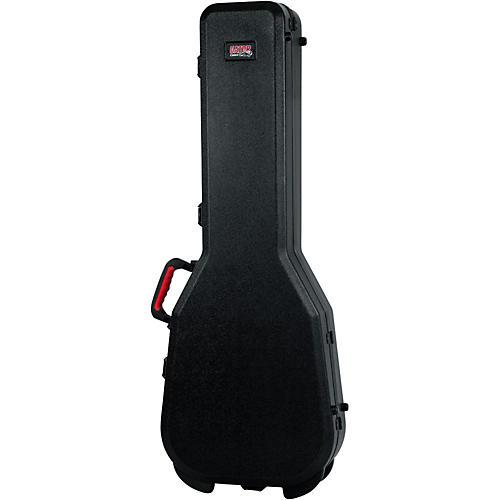 Gator Flight Pro TSA Series ATA Molded Gibson SG Guitar Case Black Red