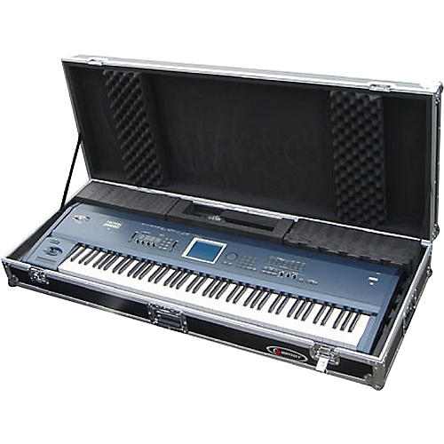 Odyssey Flight Zone FZKB88W 88-note Keyboard Case with Wheels-thumbnail