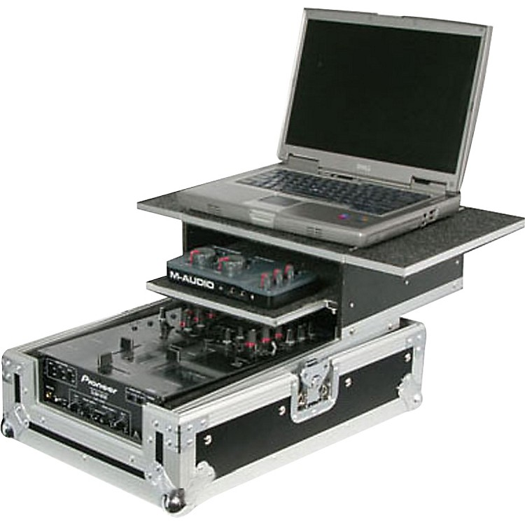 Odyssey Flight Zone Glide Style Combo DJ Mixer Case 12 Inch