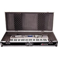 Open Box Odyssey Flight Zone: Keyboard case for 61 note keyboards with wheels