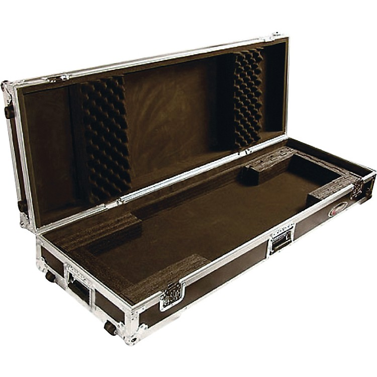 Odyssey Flight Zone: Keyboard case for 76 note keyboards with wheels