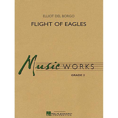Hal Leonard Flight of Eagles Concert Band Level 2 Composed by Elliot Del Borgo