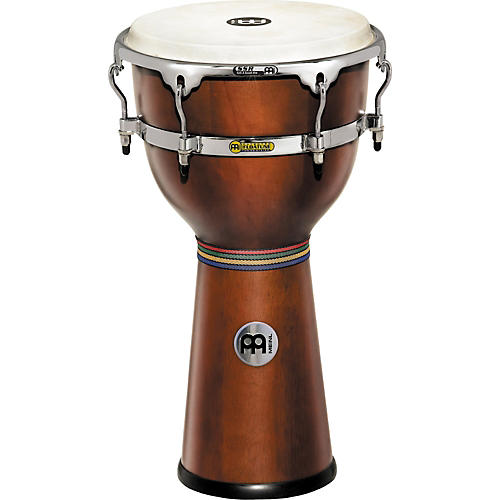 Meinl Floatune Wood Djembe African Brown 12 3/4 In