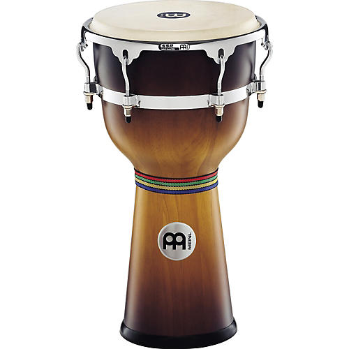 Meinl Floatune Wood Djembe Gold Amber Sunburst 12 In