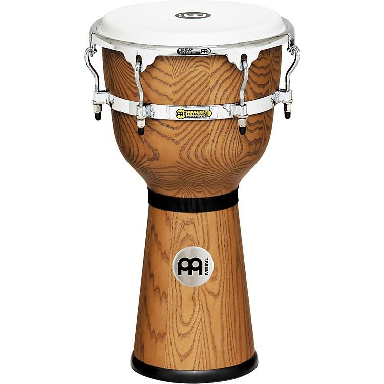 MeinlFloatune Wood DjembeZebra Finished Ash12 In