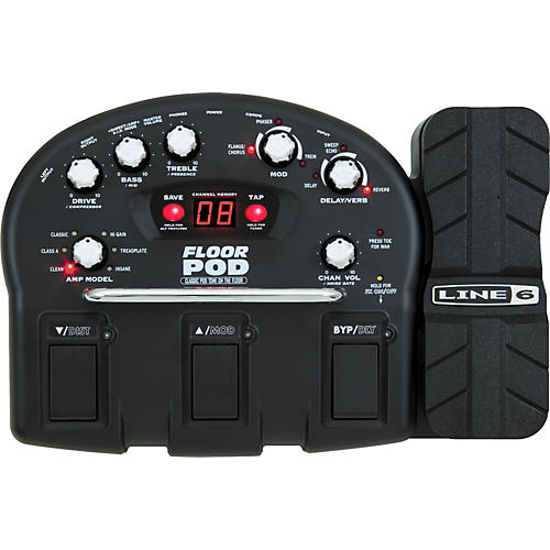 Line 6 Floor POD Guitar Multi Effects Pedal-thumbnail