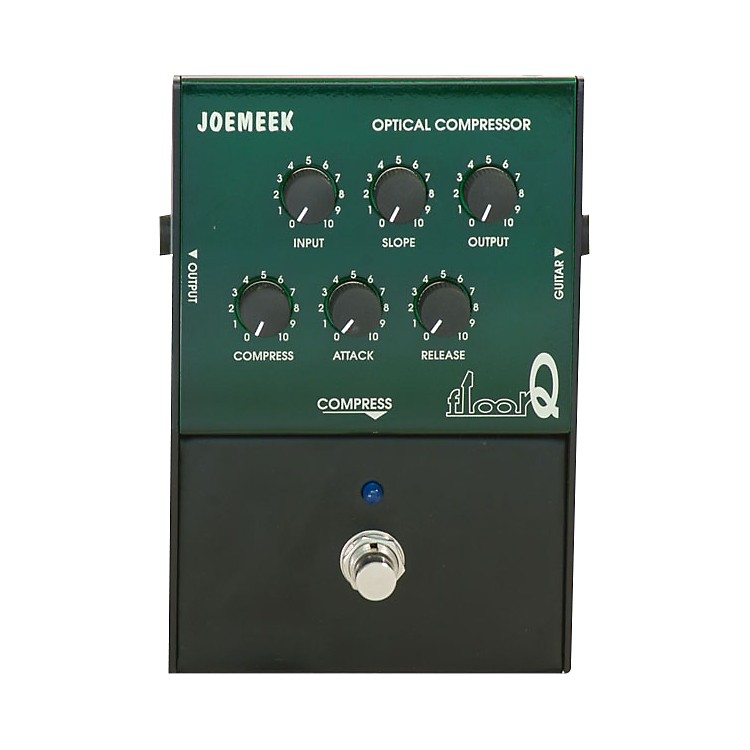 Joemeek FloorQ Compression Guitar Effects Pedal