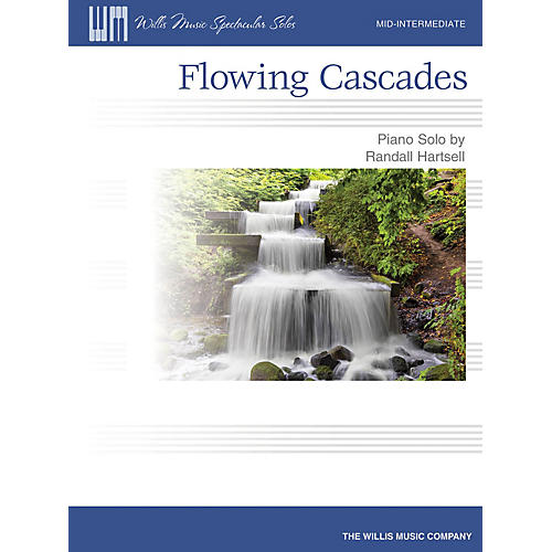 Willis Music Flowing Cascades (Mid-Inter Level) Willis Series by Randall Hartsell-thumbnail
