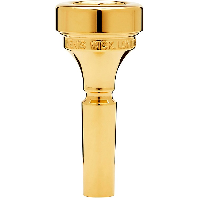Denis Wick Flugelhorn Mouthpiece in Gold